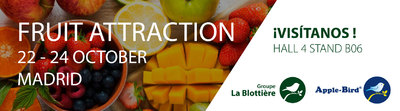Fruit attraction Madrid 2019 bannière
